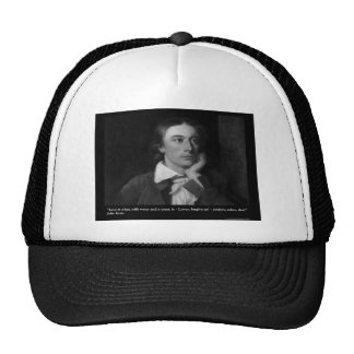 Keats Love Is My Religion Quote Gifts Tees Etc Hat