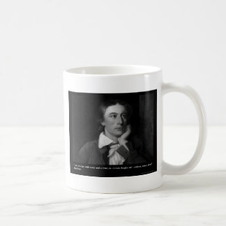 Keats Love Is My Religion Quote Gifts Tees Etc Coffee Mug