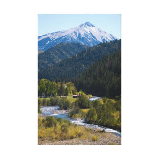 Kebler Pass in Late September Canvas Print