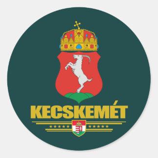 Kecskemet COA Classic Round Sticker