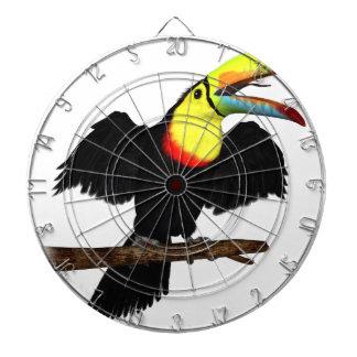 Keel-Bill Toucan Dartboard With Darts