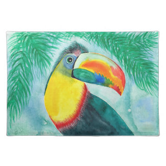 Keel-billed Toucan design placemat