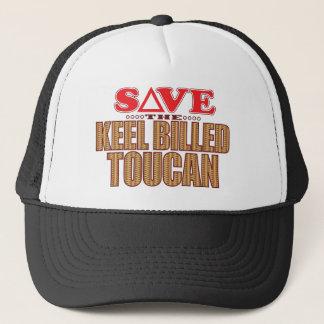 Keel Billed Toucan Save Trucker Hat