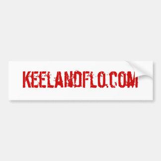KeelandFlo com bumper sticker