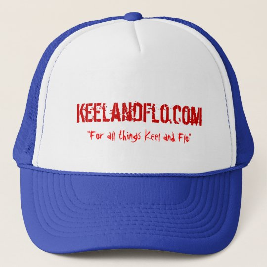 KeelandFlo.com trucker hat