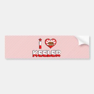 Keeler, CA Car Bumper Sticker