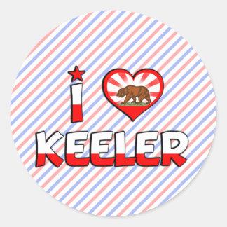 Keeler, CA Sticker