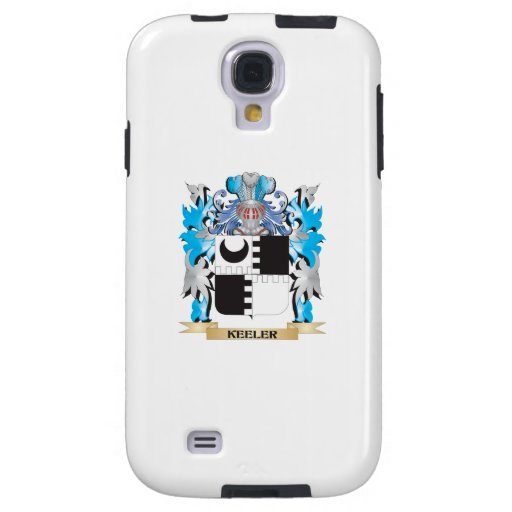 Keeler Coat of Arms - Family Crest Galaxy S4 Case