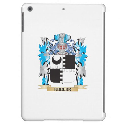 Keeler Coat of Arms - Family Crest iPad Air Covers