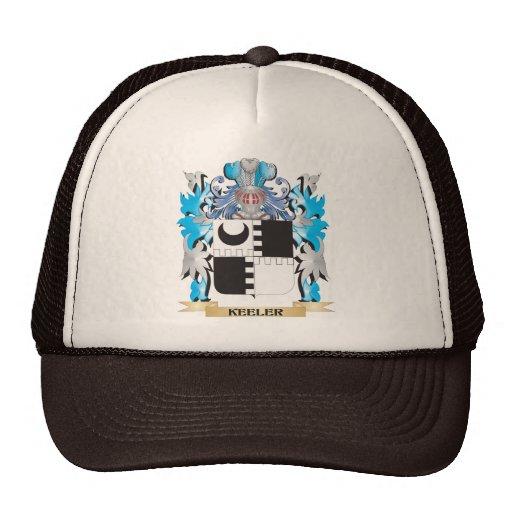 Keeler Coat of Arms - Family Crest Trucker Hat