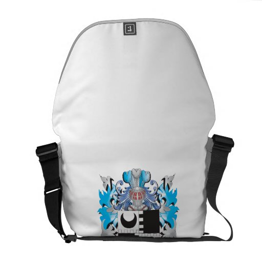 Keeler Coat of Arms - Family Crest Courier Bags