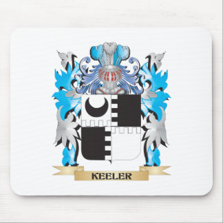 Keeler Coat of Arms - Family Crest Mouse Pads