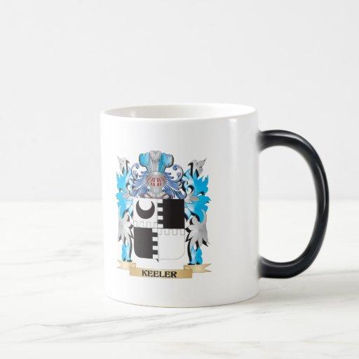 Keeler Coat of Arms - Family Crest Mugs