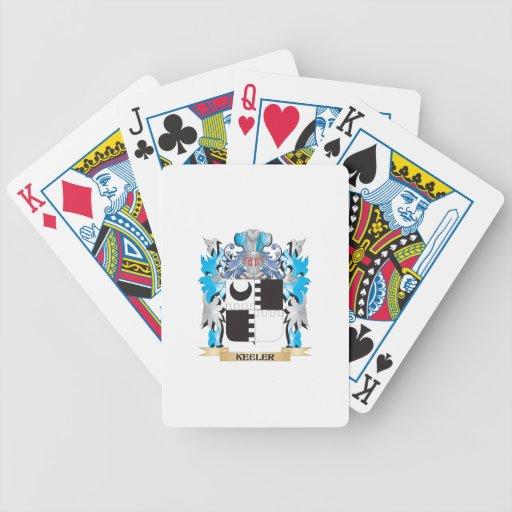 Keeler Coat of Arms - Family Crest Poker Cards