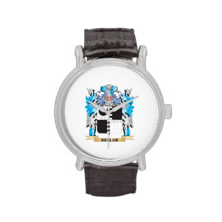 Keeler Coat of Arms - Family Crest Wrist Watches