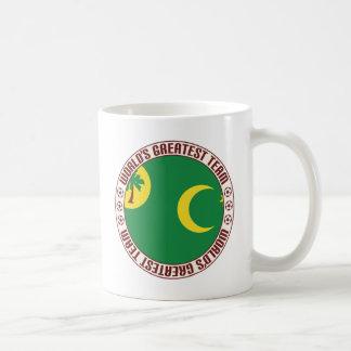Keeling Islands Greatest Team Basic White Mug