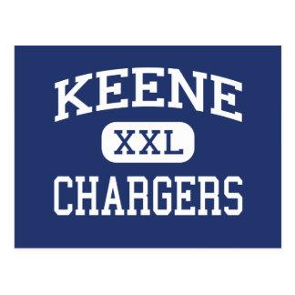 Keene - Chargers - Junior - Keene Texas Postcard
