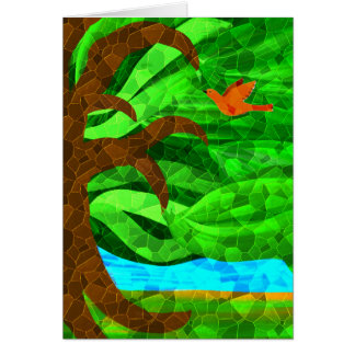Keep a green tree in your heart card