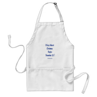 Keep Advent, tote bag Standard Apron