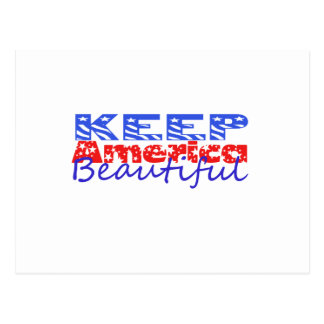Keep America Beautiful Postcard
