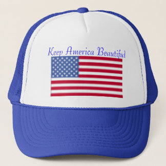 Keep America Beautiful Trucker Hat