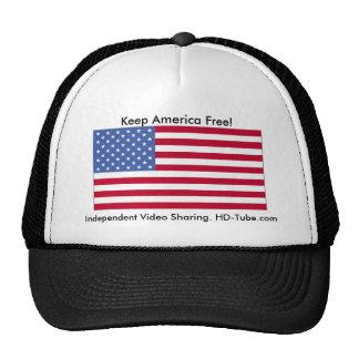 Keep America Free Cap Hat