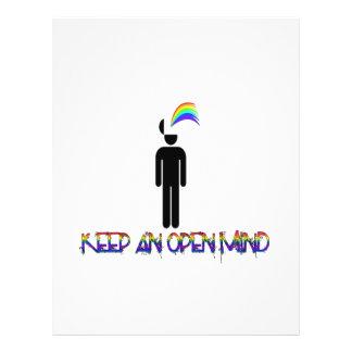 Keep an Open Mind 21.5 Cm X 28 Cm Flyer