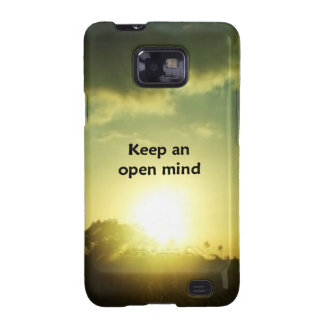 Keep An Open Mind Galaxy SII Covers