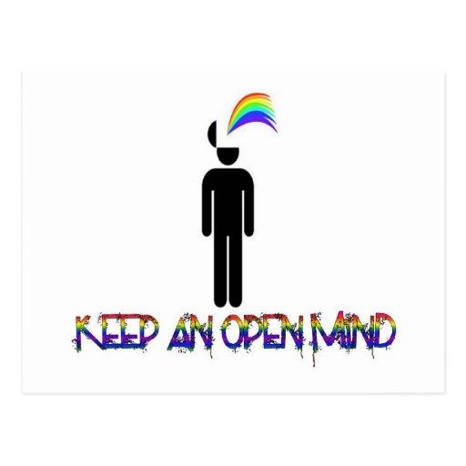 Keep an Open Mind Postcards