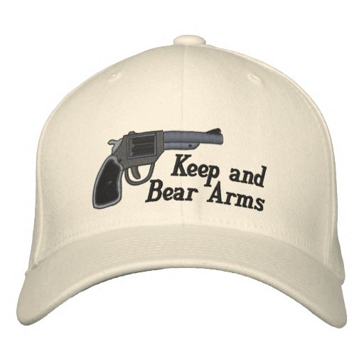Keep and Bear Arms Embroidered Hats