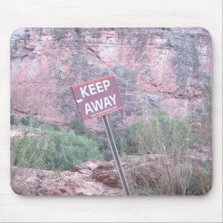 Keep Away!! Mouse Pad
