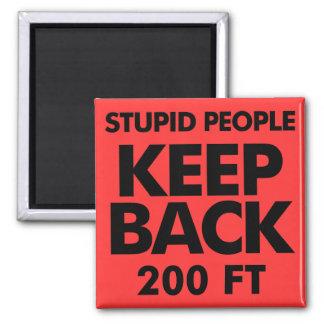 Keep Back dieter refrigerator magnet