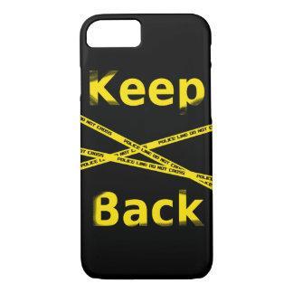 Keep bake Crime Scene iPhone 8/7 Case