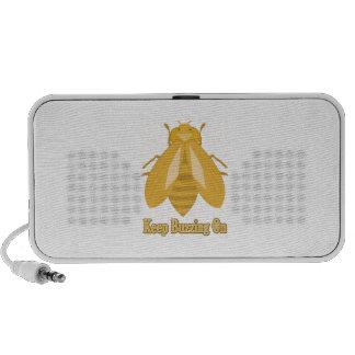 Keep Buzzing On Speakers