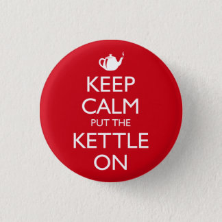 Keep Calm 3 Cm Round Badge