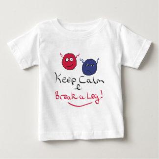 Keep Calm Acting Baby T-Shirt