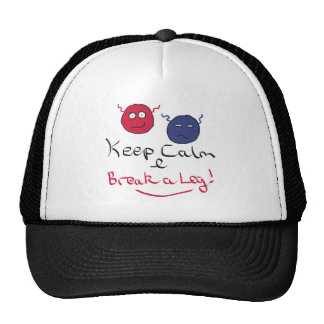 Keep Calm Acting Cap