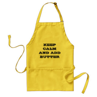 Keep Calm and Add Butter Apron