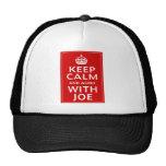 Keep Calm And Agree With Joe Mesh Hats