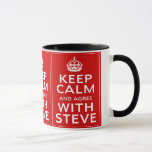 Keep Calm And Agree With Steve