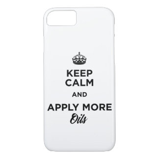 Keep Calm and Apply More Oils iPhone 8/7 Case