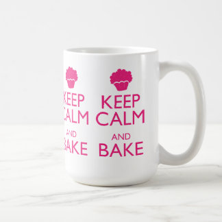 KEEP CALM AND BAKE COFFEE MUG