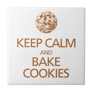 Keep Calm and Bake Cookies Tile