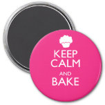 KEEP CALM AND BAKE MAGNETS