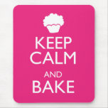 KEEP CALM AND BAKE MOUSEMATS