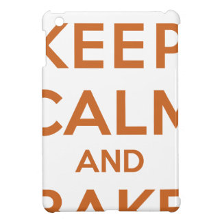Keep Calm and Bake On Cover For The iPad Mini