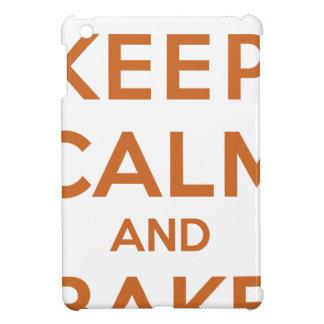 Keep Calm and Bake On iPad Mini Covers
