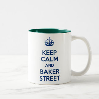 Keep Calm and Baker Street Mug