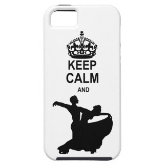 Keep Calm and Ballroom Dance Case For The iPhone 5