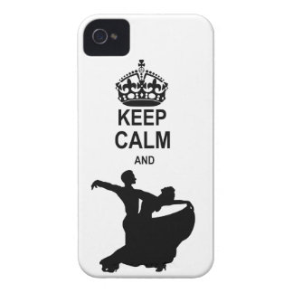 Keep Calm and Ballroom Dance Case-Mate iPhone 4 Cases